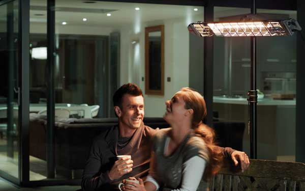 Warm Summer Nights with an Electric Patio Heater